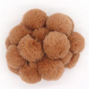 20 unids / set Pom Balls Elastic Hair Pein Titt Portátil Portátil Pelo Gum Scrunchies Bandas Elásticas Para Mujeres Accesorios Para Niñas1