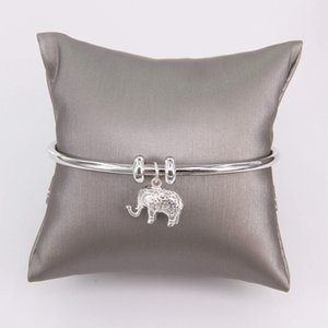 Hemiston Elephant Carrier Bracelets Bangles Glam Moda gioielli regalo per le donne Bijoux Y1119