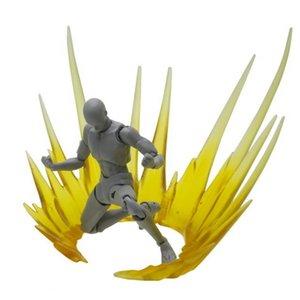 Explosive Gas Special Effect Decoration Explosive Gas Model for Gundam Model Action & Toy Figures- Black Y200421