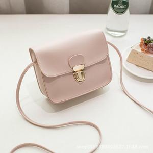 PU New Fashion Messenger Bags Girl 2020 Brand Cheap Ladies Small Shoulder Leather Women Crossbody Bag Hasp Bags For Handbags 102 Blubf