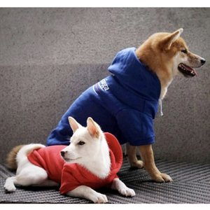 Woofwhitefashion Corgi Schnauzer Pet Fashion Dog Dog Plus Velvet Thicken Hoodie Keep Warm Autumn And Winter Dog Clothes jllSzT jhhome
