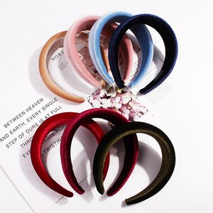 Thick Sponge Velvet Hairbands Headbands For Women Girls Head Bands Velvet Hairband Women Hair Head Hoop Sweet Girls