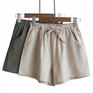 New Sexy Fashion Women Summer Shorts High Waist Cotton Elastic Casual Shorts Plus Size Short Panties Autumn Femme 10 Colors