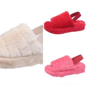 VFT PMOISTE Donne Pantofole Pantofole Pantofole Pelle Pelle Impermeabile Non Slittamento Slipper Pantofole Peluche Femminile Minion Maschio Casa Calda Inverno Inverno