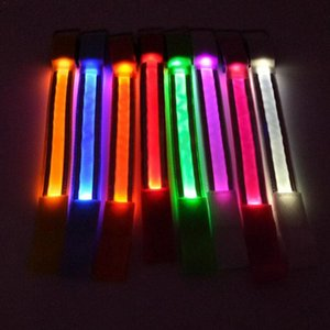Sports Night Running Armband Arm Leg Lights Band Reflective LED Strap Safety Belt For Night Running Cycling Led Light
