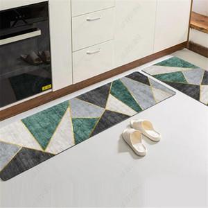Anti-Slip Home Cozinha Longa Esteira Set Absorção à Prova de Óleo Quarto Arquivo Tapete para sala de estar Varanda Bathroom Pad Tapete
