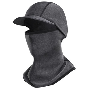 Bicycle Cap Hat Winter Sports Warm Fleece Hat Warm Face Cover Neck Gaiter Outdoor Cap for Winter Bicycle Neck