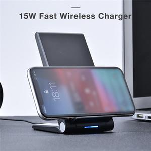 20 W Hızlı Qi Hızlı Kablosuz Şarj iphone 11 Pro XS MAX XR x 8 Hızlı Kablosuz Şarj Standı Airpods Pro