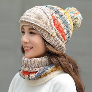 Avrupa ve Amerikan Kış Açık Spor Soğuk Proof Örme Şapka Kalınlaşma Yün Yarnr Şapka Sıcak Şapka Parti Favor T9I00889 Tutun