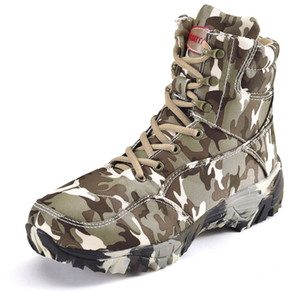 Men Military Boots Quality Special Force Tactical Desert Combat Ankle Boats Army Work Shoes Outdoor Male Camouflage Hiking Boots LJ201214