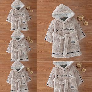 YBQS Ears Baby Cap Bath Towel Pajamas comfortable Cartoon Kids cotton towel child bathrobe Children Hooded Bathrobe for Infants with