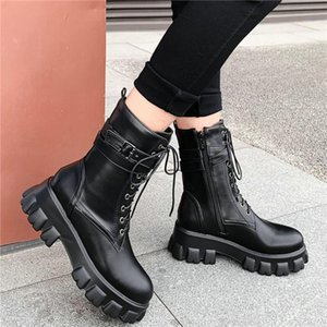 Oxfords Women Black White High Heel Riding Boots High Top Platform Casual Shoe Round Toe Party Pumps Punk Goth Sneakers