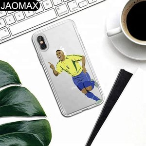 World Cup Sports Superstar Art Personality Custom Design Soft TPU Clear Phone Case For iphone X 6S 6 7 8 Plus Phone Cover