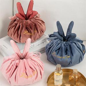 En toilette Bag Andler Sacs de maquillage paresseux Femme Portable Cordon de rangement Sac de stockage Voyage Articles de ménage Organisation DB473