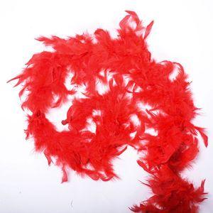 2m аксессуары одежды перо многоцветный полоса пушистые с днем рождения вечеринка свадебные украшения танцы реквизиты dhf3536