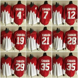 Vintage 1972 Équipe Canada Hockey sur glace 7 Phil Esposito Jersey 19 Paul Henderson 28 Bobby Clarke 35 Tony Esposito Bobby Orr Yvan Cournoyer