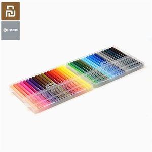 YouPin Kaco 36 Farben Doppel NIB Aquarell Stift Set Qualität Tintengemälde Graffiti Kunstzeichnung Set von Mijia youpin 201128