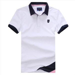 Eden Park Classic Hommes Polos Summer Homme Polo Broderie Stretch Coton Top Qualité Plus Taille 3XL Eden Park Mens Polo