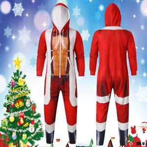 Christmas Cosplay Costume Hot Sale Men's Sets 2020 Funny Hooded Sweatshirt Men's Winter Warm Outcoat Chaqueta De Los Hombres B1205
