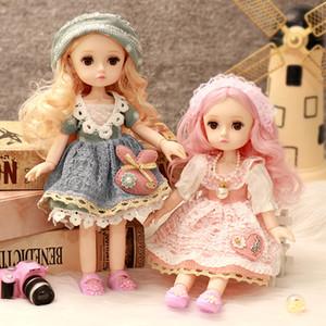 Lofea 10-Polegada Dress-up BJD Boneca Crianças Feminino Brinquedo Aniversário Princesa Presente Viinly Silicone Collection Girl Boneca