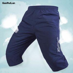 Summer 2020 New Gym Mens Sport Running Shorts Quick Dry Workout Short Pants Wear Zipper Men Soccer Tennis Training Beach Shorts X1116