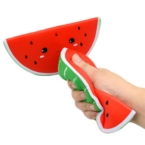 Squishy Watermelon Jumbo Squishy Toys Kawaii Squishies Slow Rising Antistress Stress Relief Squishies Wholesale Toys Gift