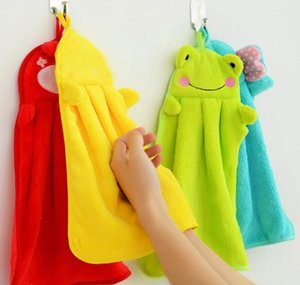 Hand Hanging Kitchen Bathroom Indoor Thick Soft Cloth Wipe Towel Cotton Dish Cloth Clean Towel Accessories sqcnIlp dh_seller2010