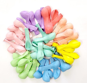 5inch 10inch 12inch 18inch 50pcs Macaron Pastel Candy Balloon Large Round Balloons Wedding Deco Birthday Globos Latex jllONd mx_home