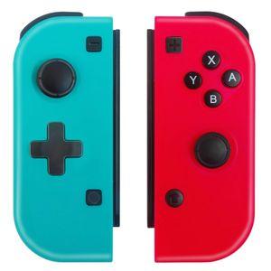 Tienda de fábrica Controlador inalámbrico Shock Joy Con controlador Reemplazo para Nitendo Switch L / R Joycon Pad Cableado / Wireless Switch Remotes
