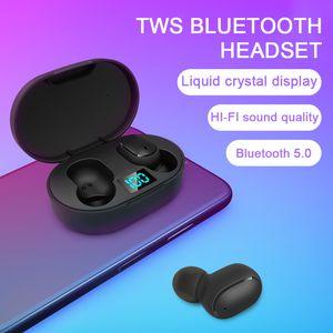 MSE6S TWS Wireless Earphone LED Charging Display Stereo Headphone Mini Sport Earbuds Game Headset PK A6S Headset