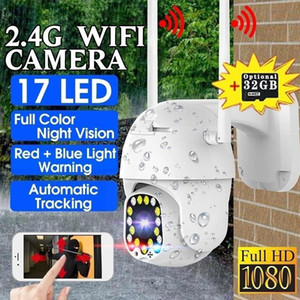 1080P PTZ Wifi IP Camera Outdoor 5X Digital Zoom Wireless Camera H.264 P2P Audio Surveillance 2MP Security CCTV Cameras Dome
