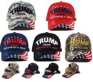 Luxury-Party Supplies Donald Trump 2020 Baseball Hats Keep Make America Great Embroidery Women Men Sports Cap Visor Trump Hat Party Hats