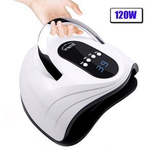 120 90 72 36W Nail Dryer LED Nail Lamp For Manicure With Auto Sensing LCD Display 42 Pcs Light Bead Quick Curing UV lamp 201125