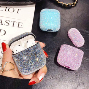 Caso di diamanti di lusso per AirPod Pro Case Carino Candy Colors Girl Protective Cover Designer per AirPods Cases Girly Accessori Donne