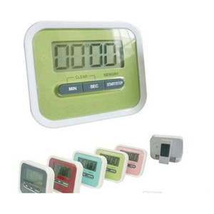 christmas gift digital kitchen count down  up lcd display timer  clock alarm with magnet stand clip