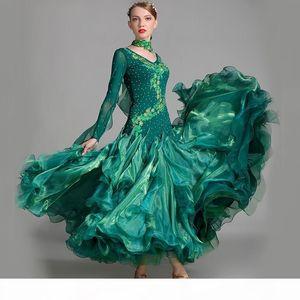 standard ballroom dress women competition standard dance dress for dance ballroom rumba dresses tango waltz costumes