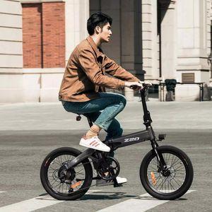 Himo Z20 Elektrikli Fold Ebike 36V10AH Gizli Lityum Pil 250W Motor 25km / h Kentsel Bisiklet Öğrencisi Commuting