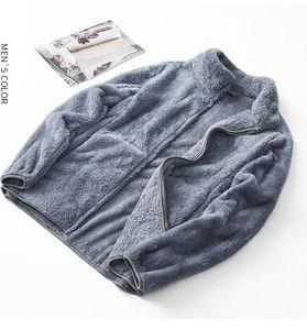 men fleece jacket street trend North city jackets Travel style Letter embroidery design waterproof face fabric women jacket 2089