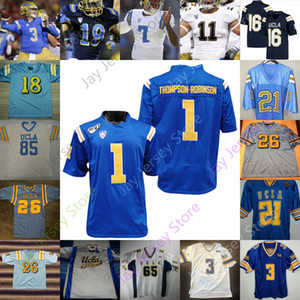 UCLA Bruins Football Jersey NCAA College Troja Aikman Maurice Jones-Drew Dorian Thompson-Robinson Kelley Felton Cota Asiassi Erwin Philips
