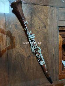 Nouveaux produits à vendre Margewate Clarinet Drop B Tuning Bois rouge Instrument de musique professionnelle avec accessoire de clarinette