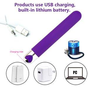 10 Speed Bullet Vibrator Dildo Vibrators AV Stick G-spot Clitoris Stimulator Mini Sex Toys for Women Anal Maturbator Sex Product