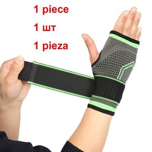 COYOCO Marka Basınçılabilir Bandaj Bilek Destek Palm Koruyun Bileklik 1 ADET Profesyonel Spor Bilekliği Bileklik Brace Black Bbyzbo