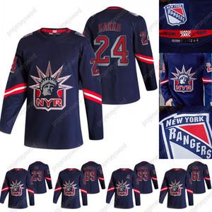 2020-21 Retro Retro Kaapo Kakko Jersey New York Rangers Alexis Lafreniere Adam Fox Artemi Panarin Pavel Buchnevich Mika Zibanejad Jerseys