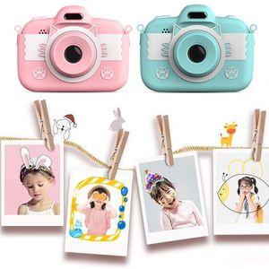 C17 mini caméra enfants caméra enfants caméra 3,0 '' Caméra numérique Full HD avec jouets intellectuels de silicone enfants enfants cadeaux enfants