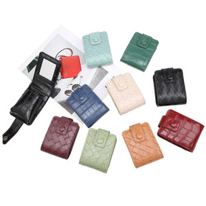 New Arrival Cosmetic Bag Leather Lipstick Bag Case Crocodile Pattern Jewelry Fashion Ladies Girls Small Makeup Bags