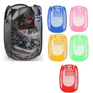 Foldable Basket Breathable Laundry Sorting Box Net Bag Storage Various Sundries Basketball Towel Shoes Environmentally Friendly