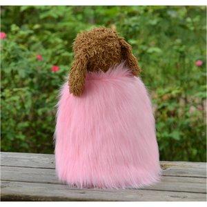 2020new Pet Clothes Tassel Fur Cloak Dog Dog Clothes Keep Warm Weave Fur Coat Pet Clothing jllOfU homecart
