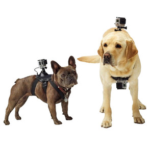 Tripods For GoPro Accessories Adjustable Dog Fetch Harness Chest Strap Belt Mount For Gopro Hero 4 3 SJ4000 Action Sport Camera Q1119