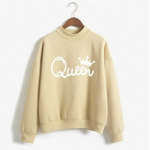 Queen Hoodie Oversized Sweatshirt Womens Clothing Harajuku Fashion Streetwear Woman Hoodies Pullover