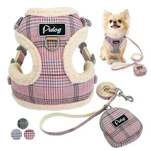 Soft Pet Dog Harnesses Vest No Pull Adjustable Chihuahua Puppy Cat Harness Leash Set For Small Medium Dogs Coat Arnes Perro